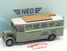 NAG Büssing race vrachtwagen Auto Union groen / wit 1:43 Neo