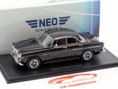 Rover P5B coupe RHD anno di costruzione 1971 nero 1:43 Neo