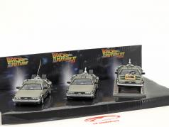 DeLorean DMC-12 Back to the Future 3 Car-Set 1:43 SunStar