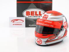 Kevin Magnussen Haas VF-18 #20 fórmula 1 2018 capacete 1:2 Bell
