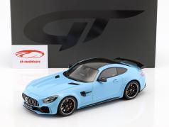 Mercedes-Benz AMG GTR año de construcción 2017 China azul 1:18 GT-Spirit