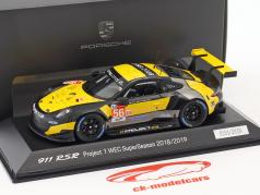 Porsche 911 (991) RSR #56 WEC SuperSeason 2018/2019 Project 1 1:43 Spark