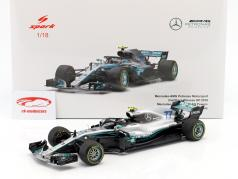 Valtteri Bottas Mercedes-AMG F1 W09 EQ Power  #77 2nd Chinese GP formula 1 2018 1:18 Spark