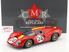 Ferrari 330 P4 #24 3ª 24h LeMans 1967 Blaton, Mairesse 1:12 CMR