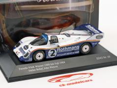 Porsche 956K #2 ganador 1000km Fuji 1984 Bellof, Watson 1:43 CMR