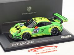 Porsche 911 (991) GT3 R #912 vincitore 24h Nürburgring 2018 Manthey Racing 1:43 Minichamps