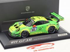 Porsche 911 (991) GT3 R #912 Vinder 24h Nürburgring 2018 Manthey Racing 1:43 Minichamps