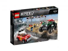 LEGO® Speed Champions 1967 Mini Cooper S Rally en Mini John Cooper Works Buggy