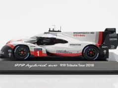 Porsche 919 Hybrid Evo #1 919 Tribute Tour 2018 1:43 Spark