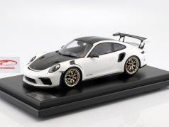 Porsche 911 (991 II) GT3 RS Weissach Package 2018 white with showcase 1:12 Spark