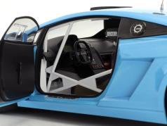 Lamborghini Gallardo GT3 FL2 ano 2013 azul 1:18 AUTOart
