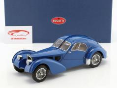 Bugatti 57S Atlantic in 1938 gebouwd blauw 1:18 AUTOart