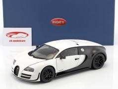 Bugatti Veyron 16.4 Super Sport År 2012 måtte hvid / carboxylsyre sort 1:18 AUTOart