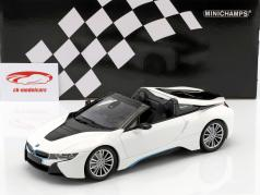 BMW I8 跑车 (I15) 建造年份 2018 白 金属的 1:18 Minichamps