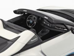 BMW I8 Roadster (I15) año de construcción 2018 blanco metálico 1:18 Minichamps