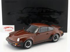 Porsche 911 (930) Turbo year 1977 brown 1:12 Minichamps