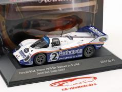 Porsche 956K #2 勝者 1000km Sandown Park 1984 Bellof, Bell 1:43 CMR