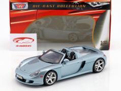 Porsche Carrera GT Año 2003 azul / plata 1:18 MotorMax