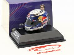 S. Vettel Red Bull GP Brésil Formule 1 Champion du Monde 2010 Casque 1:8 Minichamps
