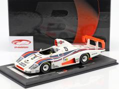 Porsche 936/78 Turbo #5 24h LeMans 1978 Martini Racing Team com mostruário 1:18 BBR