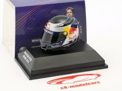 S. Vettel Red Bull GP Malaisie Formule 1 Champion du Monde 2010 Casque 1:8 Minichamps