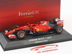 Sebastian Vettel Ferrari SF15-T #5 formule 1 2015 1:43 Atlas
