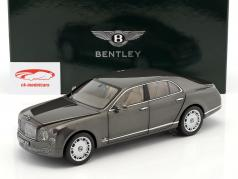 Bentley Mulsanne Brodgar Year 2010 Grey metallic 1:18 Minichamps