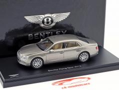 Bentley Flying Spur W12 pearl silver 1:43 Kyosho