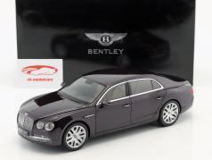 Bentley Flying Spur Damson W12 dark purple metallic 1:18 Kyosho
