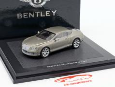 Bentley New Continental GT жемчужное серебро 1:43 Minichamps