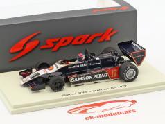 Jan Lammers Shadow DN9 #17 Argentina GP formel 1 1979 1:43 Spark