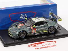 Aston Martin Vantage GTE #98 24h LeMans 2018 Dalla Lana, Lauda, Lamy 1:43 Spark