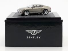 Bentley New Continental GT 真珠の銀 1:43 Minichamps