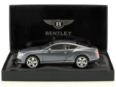 Bentley Continental GT Thunder 年 2011 ブルーグレーメタリック 1:18 Minichamps