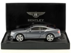 Bentley Continental GT Thunder år 2011 blå-grå metallic 1:18 Minichamps