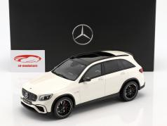 Mercedes-Benz AMG GLC 63 SUV designo diamond white bright 1:18 GT-SPIRIT
