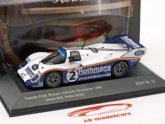 Porsche 956K #2 勝者 1000km Silverstone 1984 Bellof, Bell 1:43 CMR