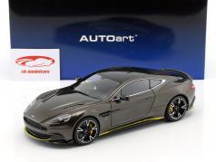 Aston Martin Vanquish S 築 2017 コピ ブロンズ / 黄色 1:18 AUTOart