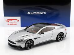 Aston Martin Vanquish S Baujahr 2017 silber 1:18 AUTOart
