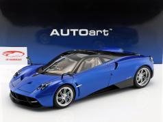 Pagani Huayra year 2011 blue metallic 1:12 AUTOart