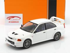 Mitsubishi Lancer RS Evolution VI year 1998 white 1:18 Ixo