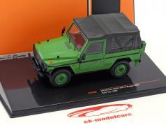 Mercedes-Benz 240 G-Klasse SWB Softtop Bouwjaar 1986 groen 1:43 Ixo