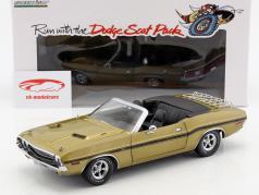 Dodge Challenger R/T Convertible Baujahr 1970 gold metallic 1:18 Greenlight