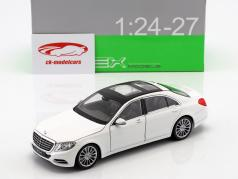Mercedes-Benz S-Class (W222) année de construction 2015 blanc 1:24 Welly