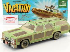 Wagon Queen Family Truckster 1979 filme National Lampoon's Vacation 1983 verde / marrom 1:18 Greenlight