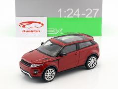 Range Rover Evoque year 2011 firenze red 1:24 Welly