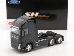 Volvo FH (6x4) Tractor year 2016 dark blue 1:32 Welly