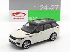 Range Rover Sport año de construcción 2015 blanco / negro 1:24 Welly