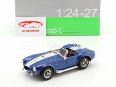 Shelby Cobra SC 427 año de construcción 1965 azul / blanco 1:24 Welly