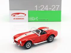 Shelby Cobra SC 427 Baujahr 1965 rot / weiß 1:24 Welly